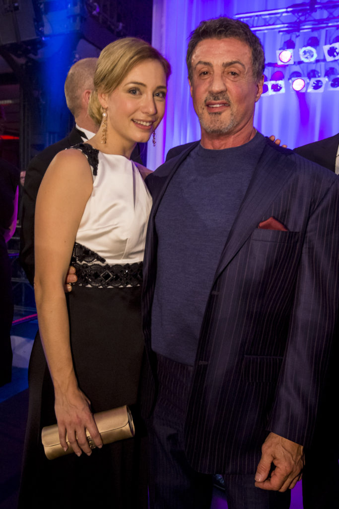 Sylvester Stallone & Wietske van Tongeren - Opening night Rocky the musical