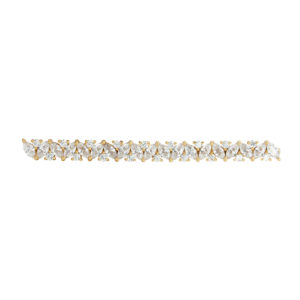 MAID OF HONOUR | glamorous hairclip with many small crystal