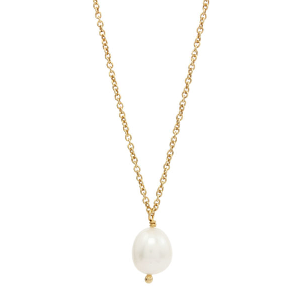 CHARMING | classic pearl necklace
